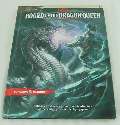 Dungeons & Dragons D&D 5th Ed NEXT Hoard of the Dragon Queen Adventure Lvls 1-7