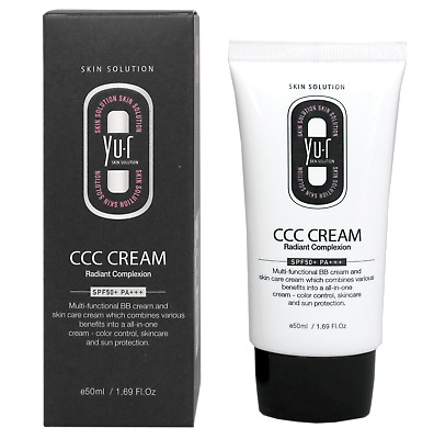 YU.R Yur C CC Cream SPF50+ PA+++ Multi Function BB Cream Skincare Sun Protection