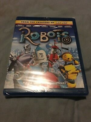 New Factory Sealed Robots Blu-ray