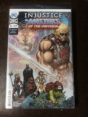 Injustice vs. Masters Of The Universe Issues 1-6 Complete Mini Series DC Comics