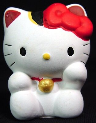 Vintage Omikuji Lucky Hello Kitty w/ Original Rolled Oracle Inside Never Opened