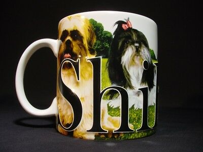 Shih Tzu Coffee Tea Cup Mug Shih Tzu Lovers 3D Coffee Cup Americaware 2007