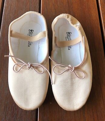 Full sole Satin ballet Flat K11 to Au 10 foot length 15.5 to 26 cm
