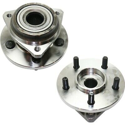 FRONT Wheel Hub /& Bearing Assembly for 1989-1998 Jeep Cherokee Composite Rotor