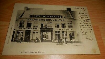 CPA - Cassel hotel du sauvage be (59 nord)