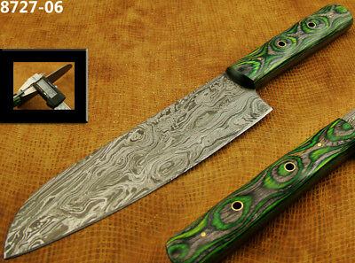 "Alistar 12.4"" Handmade Damascus Steel Knife Skinning/Kitchen/Chef Knife 8727-06"