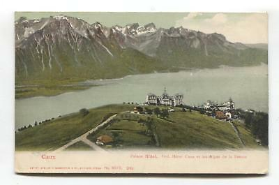Caux, Switzerland - Palace Hotel, Grand Hotel Caux - early postcard