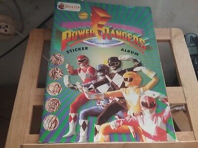 Power Rangers Dinothunder Cards Album Vuoto Prominter