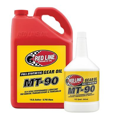 Red Line MT-90 75W90 GL-4 Synthetic Manual Transmission Fluid