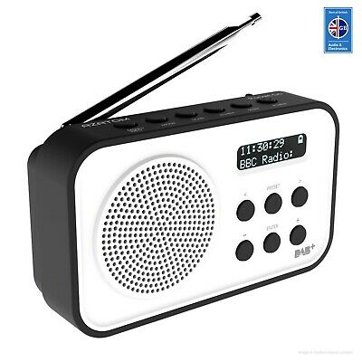 AZATOM Pocket Go Radio DAB / DAB+ / FM RDS - Portable speaker with Alarm