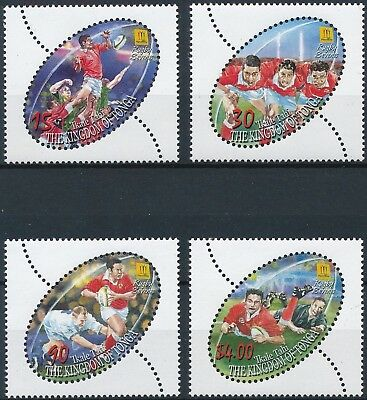 [H16404] Tonga 2002 RUGBY SEVENS - Sports Good set of stamps very fine MNH