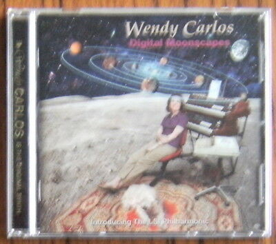 WENDY CARLOS Digital Moonscapes CD (2000) East Side Digital LSI Philharmonic