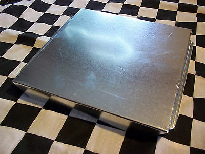 6 New - 10 X 10 Inch Hvac Duct End Cap Galvanized Sheet Metal Building Supply