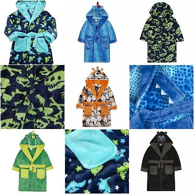 NEW Minikidz - Infant Boys and Older Boys Novelty Robes Childrens Kids Gift