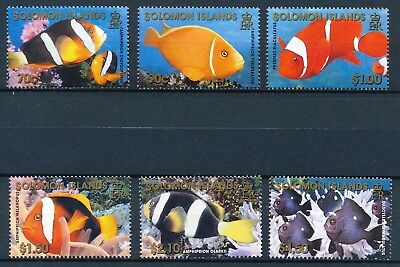 [H11928] Solomon Isl 201 : Fishes - Good Set of Very Fine MNH Stamps