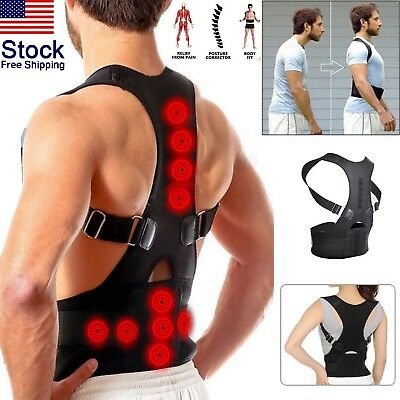 BodyWellness Posture Corrector (Adjustable to All Body Sizes) USA FREE SHIPPING