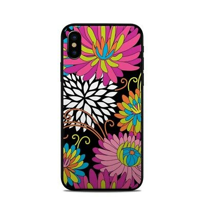 iPhone X/XS Skin - Chrysanthemum by Debra Valencia - Sticker Decal