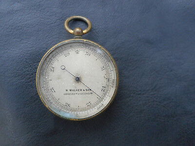 Antique Hand Held Barometer by Greenock and Glasgow