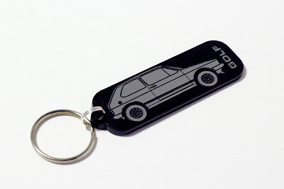Leatherette /& Chrome Classic Car Keytag Ford Escort Mk1 4-Door Keyring