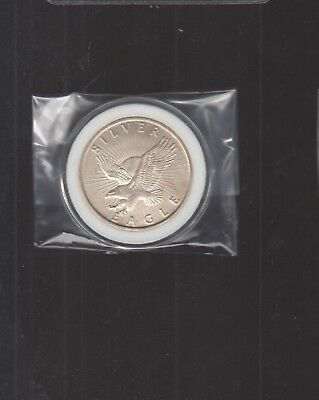 SUNSHINE MINING SILVER EAGLE - 1 oz .999 SILVER ROUND  SS1
