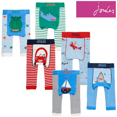 Joules Lively Baby Boys Character Leggings (2 Pack)