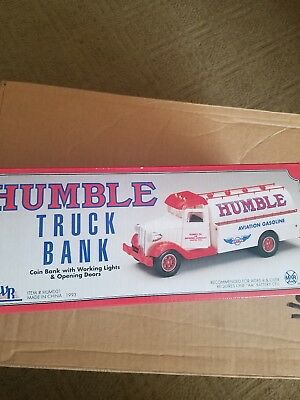 Humble Truck Bank 1993 Aviation Gasoline new