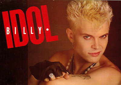 Postkarte, BILLY IDOL