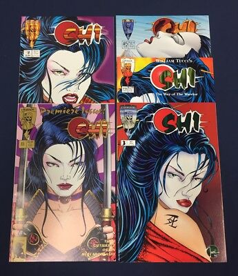 Shi Way Of The Warrior #1-5 : Complete Series : Crusade 1994 : William Tucci