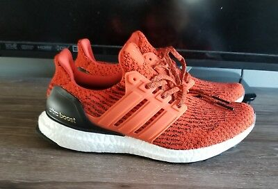 fcc64b050 Adidas Ultra Boost 3.0 S80635 Size 7.5 Energy Red Sneakers Running Shoes