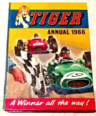 1966 TIGER Annual..Roy Rover..Dan Dare Type Space With Jet Ace Logan.etc