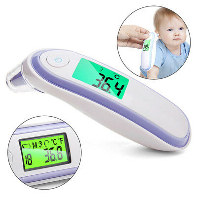 IR In-Ear InfraRed LCD Temperature Ear Thermometer Digital Adult Baby Latest New