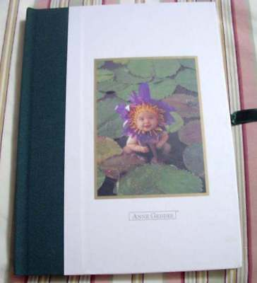 NEW Anne Geddes WATER LILY BABY PHOTO Album Memory Book Shower Gift