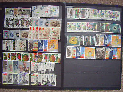 LOT#353a - GB QEII 1986-1997 COMMEMORATIVE STAMPS (Multiple Listing) SETS USED