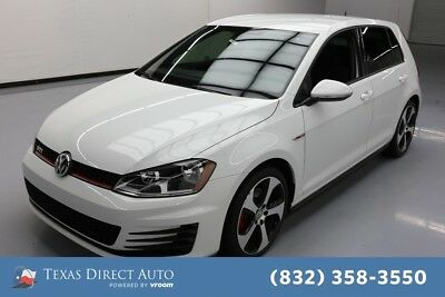 2017 Volkswagen Golf S Texas Direct Auto 2017 S Used Turbo 2L I4 16V Automatic FWD Hatchback Premium