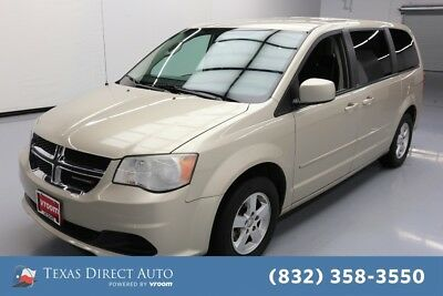 2013 Dodge Grand Caravan SXT Texas Direct Auto 2013 SXT Used 3.6L V6 24V Automatic FWD Minivan/Van