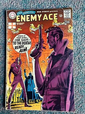 Star Spangled War Stories   Enemy  Ace #141.  1968 DC
