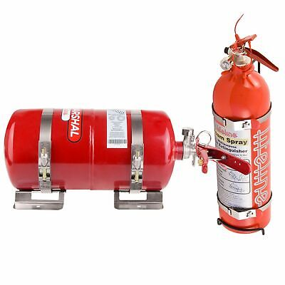 Lifeline Fire Marshal Mechanical Extinguisher Rally Package - 4L & 2.4L Handheld