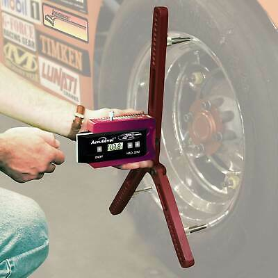 Longacre Digital Wheel Castor Camber Gauge With Adaptor - 15 - 22 Inch Wheels