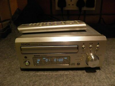 Denon UD-M30 CD player, reciever and amplifier in silver with Remote