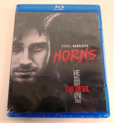 HORNS-   BLU-RAY    NEW  SEALED w/Special Features    Daniel Radcliffe