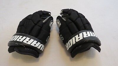 """Used Warrior Luxe Pro Stock Dallas Stars 14"""" Hockey Gloves! Digital Palm MeiGray"""