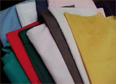 Mix Lot Vintage Cotton Quilt Fabric ALL Solids Quilters Material Sew Estate 2+lb