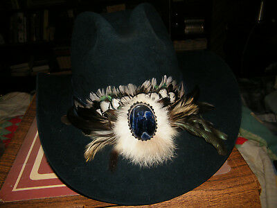 Nice Vintage Lightly Used Charlie 1 Horse Custom 10X Beaver Cowboy Hat 7 3/8