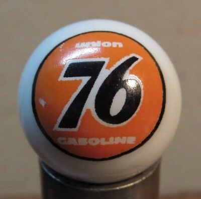 Union 76 Gasoline 1-Inch Glass Advertising Marble - Gas Fuel Oil