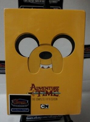 Adventure Time: The Complete Fifth Season  NEW DVD FREE SHIPPING!!