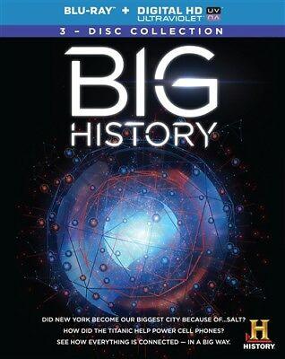 BIG HISTORY New Sealed Blu-ray Complete Series History Channel