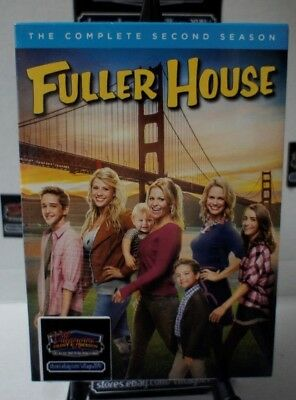 Fuller House: Complete Second Season  NEW DVD FREE SHIPPING!!! minor case damage