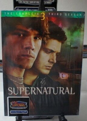 Supernatural: The Complete Third Season  NEW DVD FREE SHIPPING!!