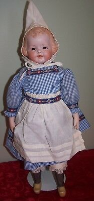 "Stunning Artist Made Dutch Girl - 16 1/2"" Height"