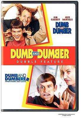 DUMB AND DUMBER Double Feature Original + Dumb and Dumberer Sealed Brand NEW